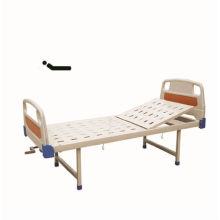 Hot vendendo single-manivela cama com PE cabeça de cama