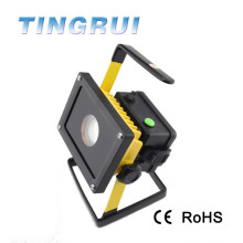 2015 hot selling super bright aluminum rechargeable led flood light