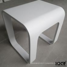moule Solide surface douche chaises et bancs