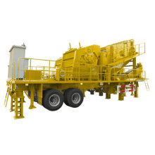 Mobile Crusher Used in Open-Pit Coal Mine
