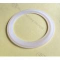 Joints de silicone blancs plats en silicone, caoutchouc clair