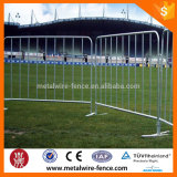 Galvanized crash barrier for road barricade
