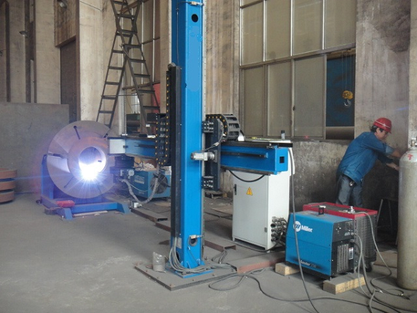 Welding Column And Boom 2
