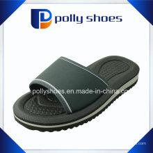 Женщин черный и белый комфорт стринги флип-флоп сандалии Размер 36