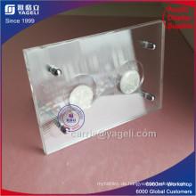 Klare Acryl 2 Münzen Rahmen