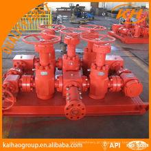 API 16C Choke & Kill Manifold para campo petrolífero