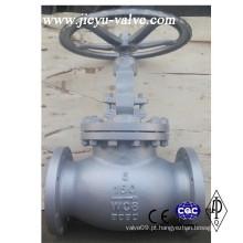 """150lb 6 """"aço carbono Wcb flange termina válvula globo"""
