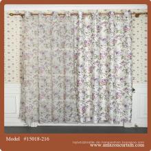 Chinesisches Seidengewebe für Baumwollvorhänge aus Porzellan fertig gemachtes Curtian Lace Stoff