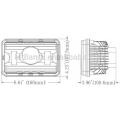 DOT Approval 4 «X6» внедорожника Светодиодная фара для фар дальнего / ближнего света