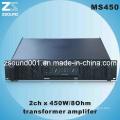 450W PRO PA amplificateur Audio professionnel (MS450)