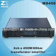 450W PRO Audio profesional amplificador de megafonía (MS450)