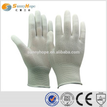 sunnyhope PU fingerless mechanic gloves