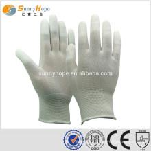 sunnyhope PU fingerless mechanic gloves