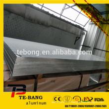 Matériau chaud de la feuille ordinaire en aluminium dans la bobine de bobine et en aluminium large