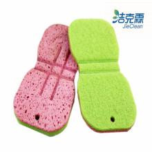 Zellstoff Schwamm Produkte / grüne Farbe