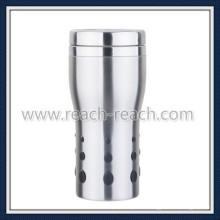 Tasse en acier inoxydable de tasse à café, tasse de voyage, (R-2252)