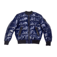 Поддельная начинка внутри Мужская набивочная куртка