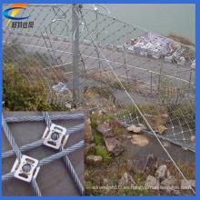 Sistema de la protección de la pendiente, red de alambre de la cuesta (fábrica)