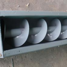 Large angle screw conveyor