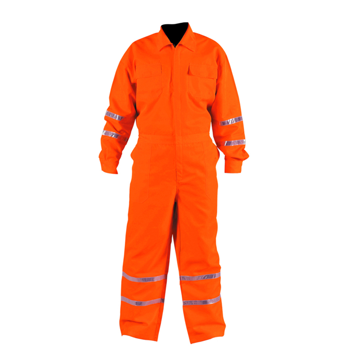 High Visibility Reflective Safety Coverall