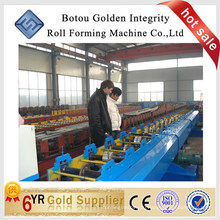 China factory downspout /rain gutter roll forming machine