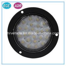 Lâmpada de cauda LED para reboque com E-MARK