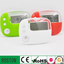 Pedômetro digital da contagem da caloria da pedômetro de Digitas