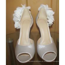 Stiletto novo do vestido de casamento do salto alto das senhoras do projeto (HCY02-1677)