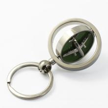 No Minimum Order Wholesale Custom Logo Souvenir Metal Spinner Keychain