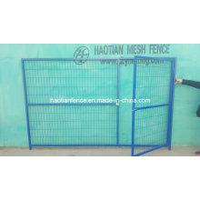 Aufbau Abnehmbarer Kanada Temporary Fence