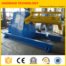Bobina de aço hidráulica Decoiler