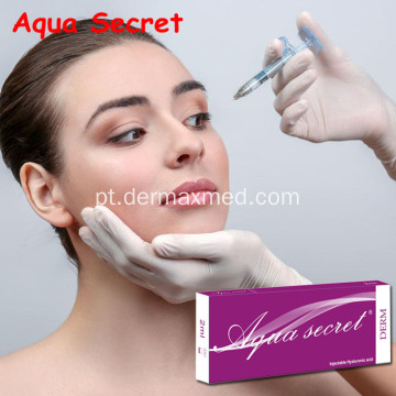 Enchimento cutâneo de Hyaluronate do sódio injetável do gel do HA
