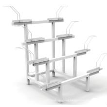 Bike Rack Storage Shelf Metal Steel Bicycle Holder