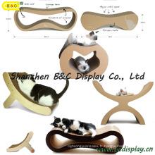 Toutes sortes de lit de chat / griffoir / chat jouet (B & C-H001)
