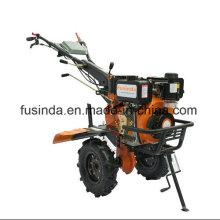 Fg1050, 2HP 4.4kw Diesel Tiller Deux Balles Tiller Mini Tiller Jardin Tiller Ferme Tiller Ferme Tiller Moteur Diesel Tiller