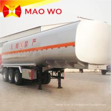 Reboques de tanque de óleo de aço carbono de 40000 litros