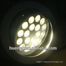 18w down light housing 110v 220v 100-240v 18 leds