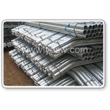Poste de clôture ronde en fer galvanisé chaud (Anjia-079)