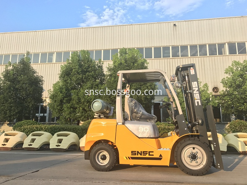 4pcs 3t gas forklift to MEXICO from sheri (11)