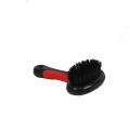 Self cleaning pet hair grooming brush