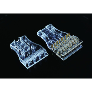 4PR 110 Transparent Connector