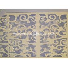Hoja de espuma de PVC utilizada para la decoración de exposiciones