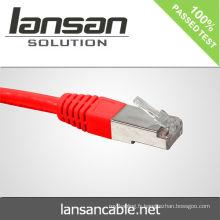 Cable de cuivre cable de mouche cat5e 24awg câble de réseau cat5e