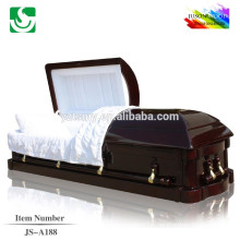 Specialized American style wholesale cherry caskets