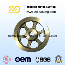 OEM Brass Casting Sand Casting Flywheel with Machining