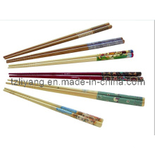 Heating Plastic Foil for Chopsticks