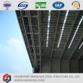Hangar de aviones de estructura de acero de gran envergadura