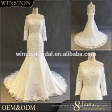 Nouvelle robe de mariage en image réelle pour la robe de bal 2017