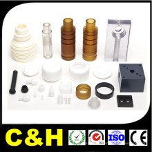 CNC Machining piezas de plástico con alta precisión
