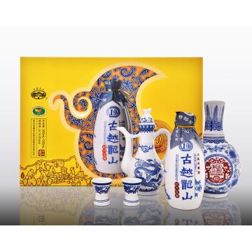 Gift Box Hua Diao Wine aged 10years
